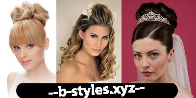 Гламурні весільні зачіски