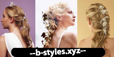 Весільні зачіски у фольклорному стилі
