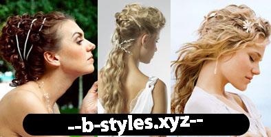 Весільні зачіски у грецькому стилі