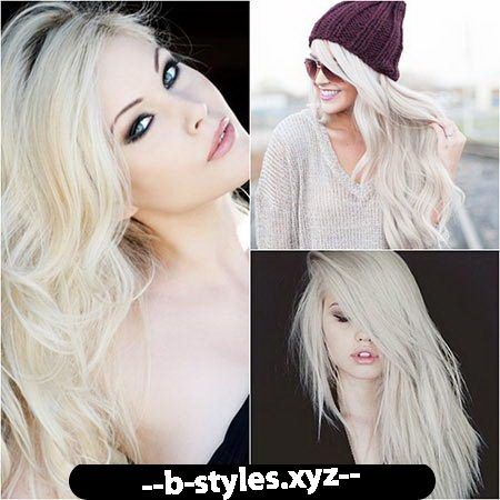 Platinum blonde haircuts