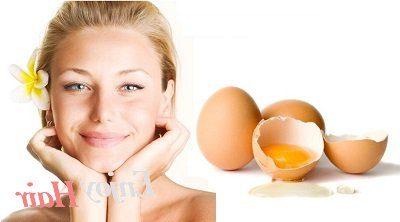 Яєчна маска для сухого волосся