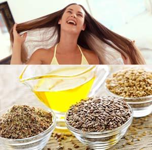 Лляна олія для волосся
