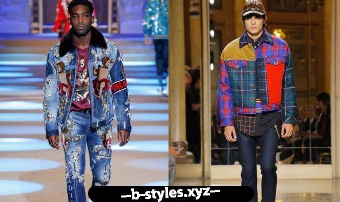 Джинсові моделі чоловічих курток 2018-2019