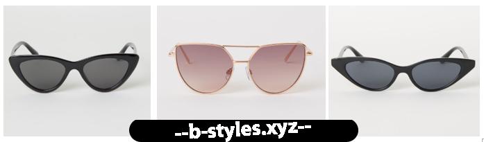 Літня колекція сонцезахисних окулярів на H&M