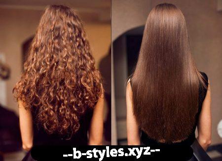 Випрямлення волосся народними засобами